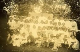 Madagascar Tananarive Eleves De L'Ecole Officielle Ancienne Photo Ramahandry 1910' - Africa