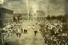 Madagascar Tananarive Arrivée Du Gouverneur Picquié Place Colbert Ancienne Photo Ramahandry 1910' - Africa