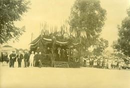 Madagascar Tananarive Avenue Fallières Une Revue Ancienne Photo Ramahandry 1920 - Africa