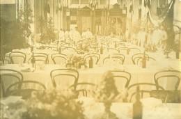 Madagascar Tananarive Banquet à La Salle De Gare Ancienne Photo Ramahandry 1910' - Africa