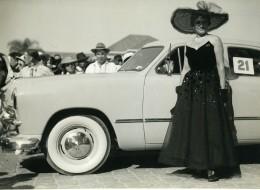 Madagascar Tananarive Ford Concours D'élégance Automobile Ancienne Photo 1949 - Africa