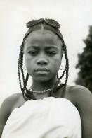Madagascar Jeune Fille Mahafaly Ancienne Photo 1910 - Africa