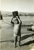 Madagascar Jeune Enfant Fillette De Miandrivazo Ancienne Photo 1950 - Africa