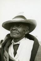 Madagascar Portrait Homme De Type Hova Ancienne Photo 1950 - Africa