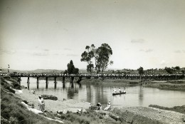 Madagascar Anosimasina Inauguration De La Passerelle Ancienne Photo 1950 - Africa