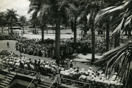 Madagascar Tamatave Assemblée Politique Ancienne Photo 1950 - Africa
