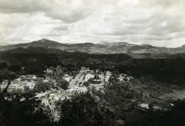 Madagascar Fianarantsoa Panorama Vue Generale Ancienne Photo 1950 - Africa