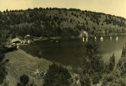 Vue Poétique De Madagascar Tananarive Lac Anosy? Voiliers Ancienne Photo 1937 - Africa