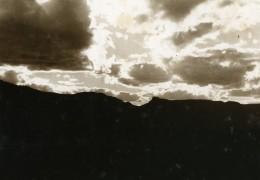 Vue Poétique De Madagascar Andringitra Nuages Ancienne Photo 1937 - Africa