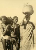 Madagascar Groupe D'Enfants Indigenes Ancienne Photo 1937 - Africa