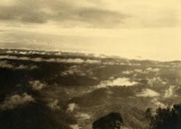 Vue Poétique De Madagascar Nuages Ancienne Photo 1937 - Africa