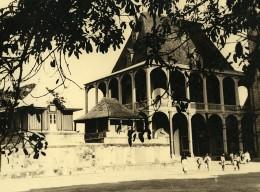 Vue Poétique De Madagascar Tananarive Rova Manjakamiadana? Ancienne Photo 1937 - Africa