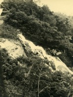 Vue Poétique De Madagascar Environs De Tananarive? Cascade Ancienne Photo 1937 - Africa