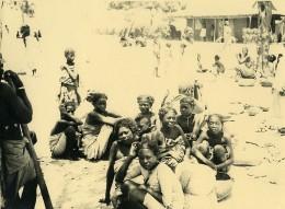 Madagascar Groupe De Femmes Indigenes Ancienne Photo 1937 - Africa