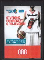 Croatia Zagreb 2015 / Basketball / Accreditation ORG / EUROBASKET / Opening Ceremony - Kleding, Souvenirs & Andere