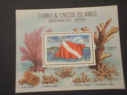 TURKS - BF 1981 MARE/CORALLI - NUOVO(++) - Turks E Caicos