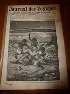 1882 JdV :Assassinat De Pierre Arnoux à OBOCK; Dannemora (Suede) ; Les Naufragés Du Navire à Vapeur OSCAR DICKSON; Etc - 1850 - 1899