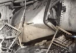 WWII Bateau Cargo Australien Torpille Par Les Japonais Ancienne Photo 1942 - War, Military