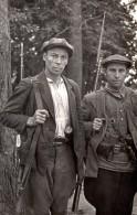 WWII Guerilla Russe Dans Les Lignes Arrieres Allemandes Ancienne Photo 1940's - War, Military