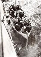 WWII Afrique Du Sud Canot De Sauvetage Paquebot Watussi Ancienne Photo 1939 - War, Military