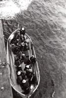 Mediterranee? Marins Prisonniers Dans Canot De Sauvetage WWII Ancienne Photo 1939 - War, Military