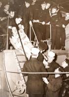 Rescape Du Naufrage Du Newcastle Collier Sheaf Crest Civiere Ancienne Photo 1939 - War, Military