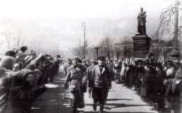 Russie Liberation D' Odessa Defile De L'Armee Rouge Ancienne Photo 1944 - War, Military