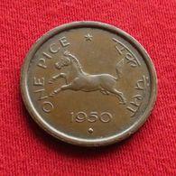 India 1 Pice 1950 B  Indie Inde Indien - India