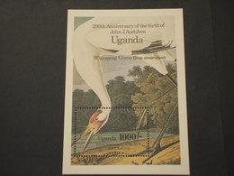 UGANDA - BF .... UCCELLO GRU - NUOVO(++) - Uganda (1962-...)