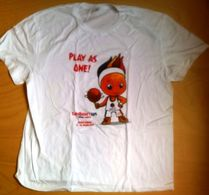 Croatia Zagreb 2015 / Basketball / EUROBASKET / T Shirt / Mascot Frenkie - Apparel, Souvenirs & Other
