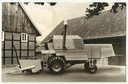 Advertising CLAAS Patent Mähdrescher Senator - Tractores