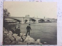 CPA Gigantesque - Valence Sur Rhône - Le Nouveau Pont Sur Le Rhone - Valence