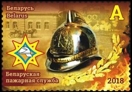 Belarus 2018 1 V MNH Belarusian Fire Service Fireman Firemen - Bombero