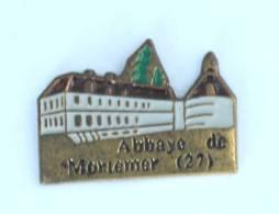Pin's LISORES (27) - L'abbaye De MORTEMER - H231 - Cities