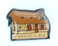 Petit PIn's  ST NICOLAS DE BLIQUETUIT (76) - La Chaumière Normande - H243 - Cities