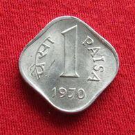 India 1 Paisa 1970 C KM# 10.2  RARE  Inde Indie - Inde