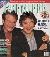 Magazine Première En Anglais, Vol 4 N° 5 - Robin Williams, Robert De Niro, Lena Olin, Tim Burton - Janvier 1991 - Cultural
