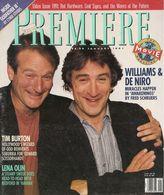 Magazine Première En Anglais, Vol 4 N° 5 - Robin Williams, Robert De Niro, Lena Olin, Tim Burton - Janvier 1991 - Culture