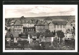 AK Mühlacker, Schulhaus Mit Uhlandbau Aus Der Vogelschau - Mühlacker