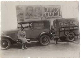 Cirque / Music-hall, Superbe Photo Artistes Karmox & Sandra (l'illusionniste Et La Voyante), Années 1930 - Personnes Identifiées