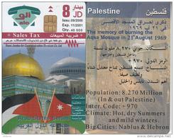 JORDAN - Arab States/Palestine, Tirage 40000, 09/00, Sample(no CN) - Jordan