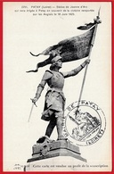 CPA 45 PATAY Loiret Vendue Au Profit De La Souscription Cachet De La Mairie (Statue De Jeanne D'Arc) ° Lenormand N° 2291 - Autres Communes