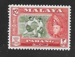 Malaya - Pahang 1957 $2 Definitive - Bersilat / Combatants - MNH - Pahang