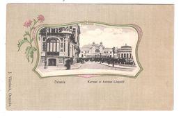 Ostende Kursaal Et Avenue Leopold Unused Dos Non Divise - Oostende