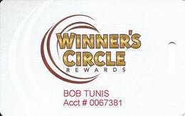 OLG Slots Toronto Ontario Canada - White Slot Card - OLG Logo Bottom Right - Small Winnerscirclerewards.ca - Casino Cards