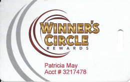 OLG Slots Toronto Ontario Canada - Silver Slot Card - OLG Logo Bottom Right - Small Winnerscirclerewards.ca - Casino Cards