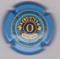 Capsule Champagne LIONS CLUB ( 54e ; Epernay 2017 , O Contour Bleu Ciel ) {S28-18} - Unclassified