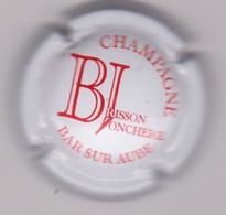Capsule Champagne BRISSON_JONCHERE ( 1a ; Blanc Et Rouge ) {S29-18} - Unclassified