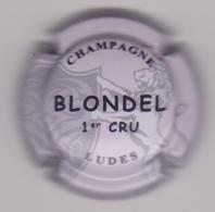 Capsule Champagne BLONDEL ( Nr ; 1er Cru , Fond Gris-crème ) Nouvelle {S29-18} - Unclassified