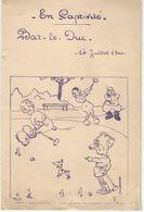 LE 14 JUILLET 1940 AU CAMP DE PRISONNIERS DE BAR - LE - DUC - 1939-45